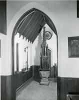 Baptistry Chapel at Grace Episcopal Church, Sheboygan, Wisconsin, 1959